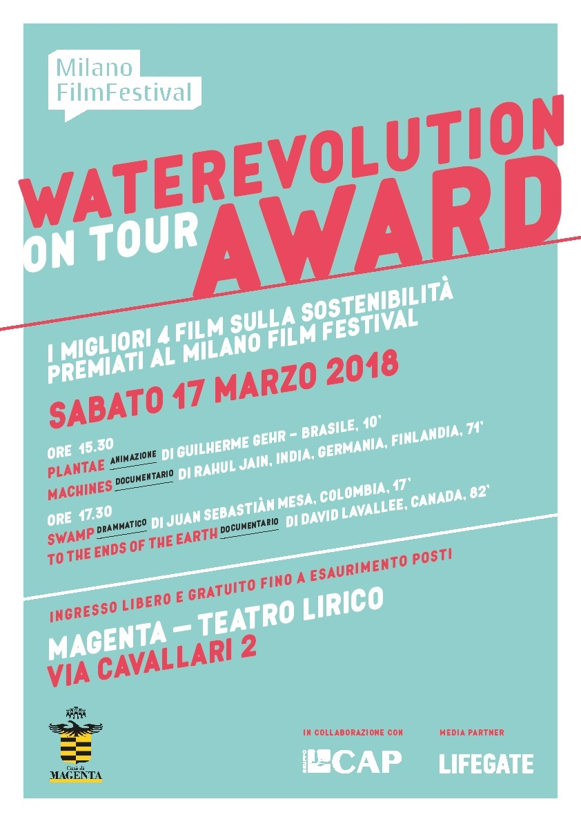 WATEREVOLUTION AWARD on tour